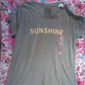 brand new Sunshine graphic t shirt